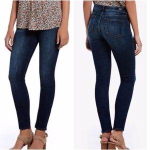 KUT MIA Toothpick Skinny Jeans Dark Wash